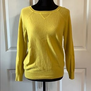 Yellow gold sweater